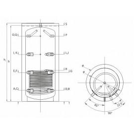 PBM-R 500 akumuliacinė talpa